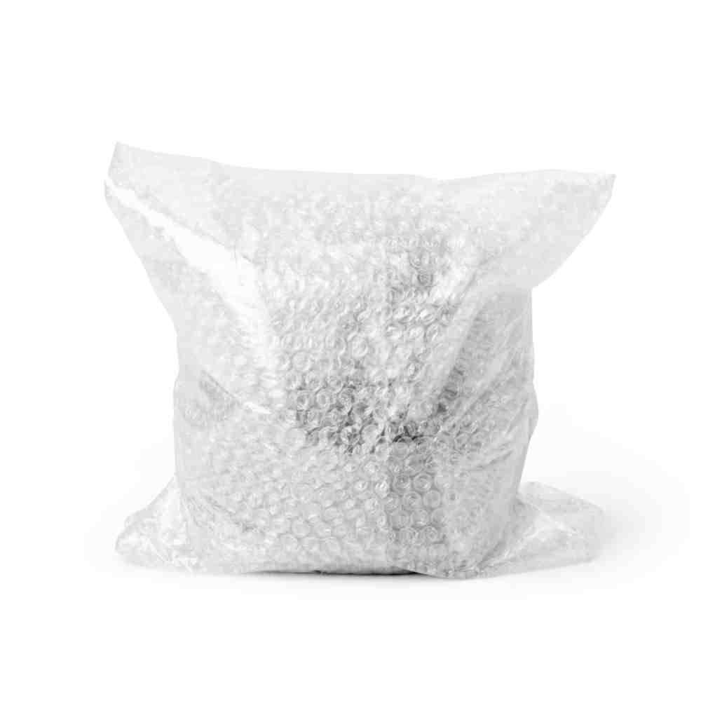 object wrapped in bubble wrap