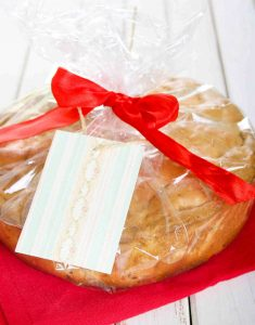 cake-wrapped-in-plastic-bag-with-ribbon